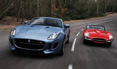 Jaguar to hire for a Tour on board a luxury car