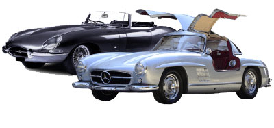 Classic car models - luxury classic car for rent in Italy