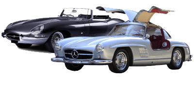 Image of our classic car models
