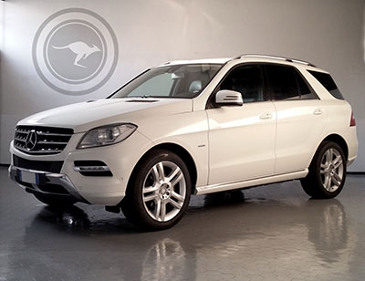 Mercedes-Benz ML M Edition 16 to hire in Italy, find out