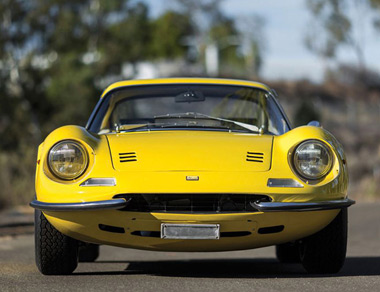 Ferrari 246 GT Dino for rent, find out more