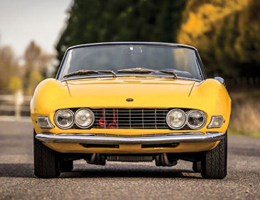 Fiat Dino Cabrio Ferrari Engine for rent, find out more