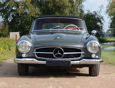 Mercedes-Benz 190 SL for rent, find out more