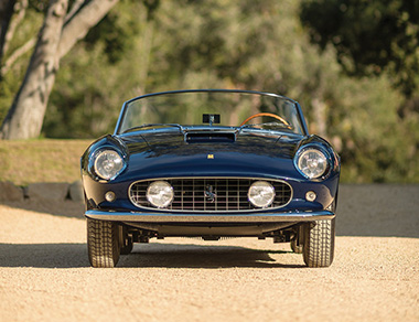Ferrari 250 GT California SWB Spider for rent, find out more