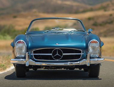 Mercedes-Benz 300 SL Roadster for rent, find out more