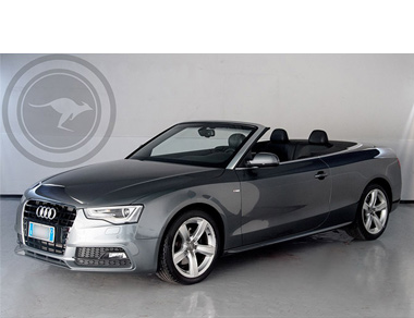 Audi A5 Cabriolet S-Line for rent, find out