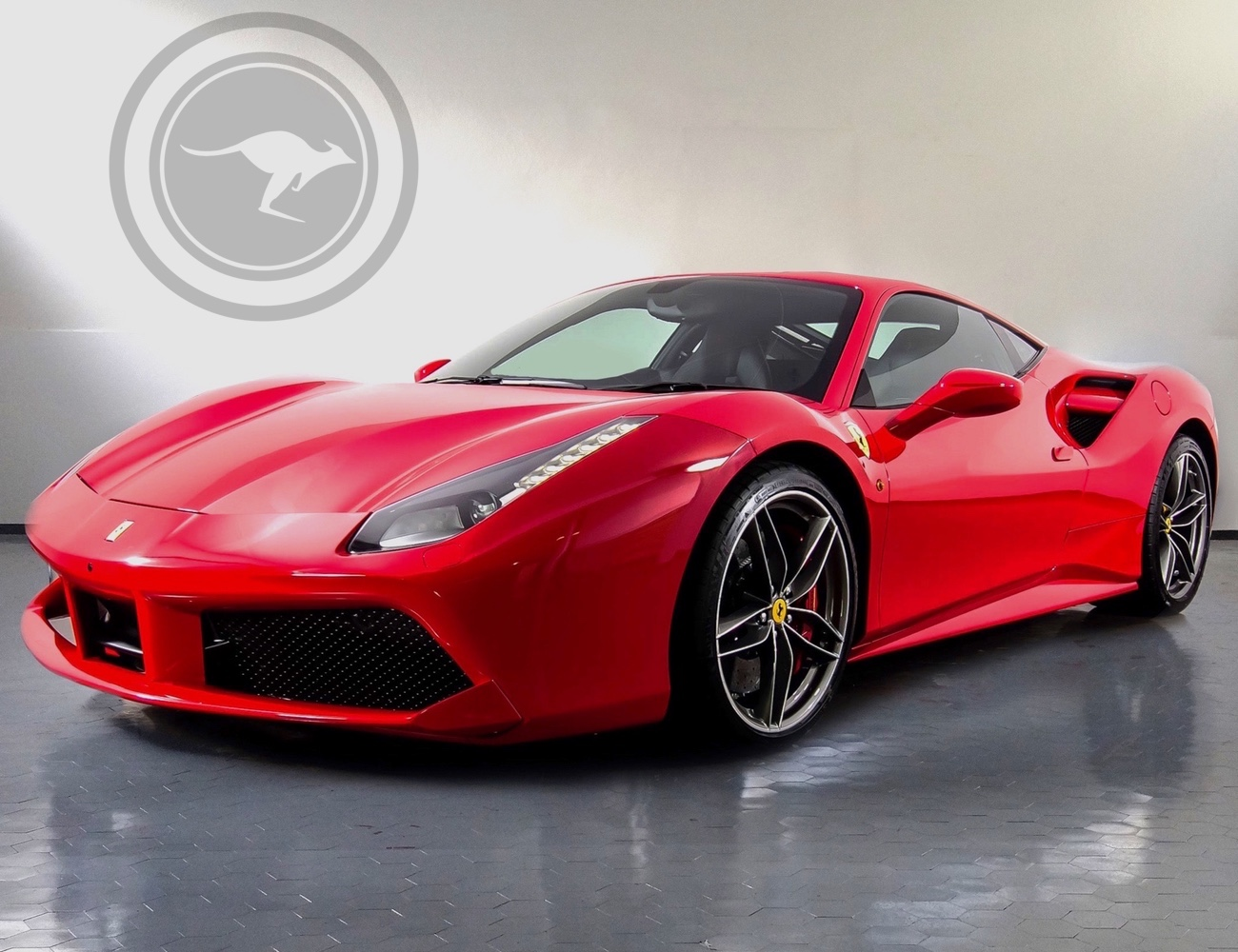 Ferrari 488 GTB for rent, find out
