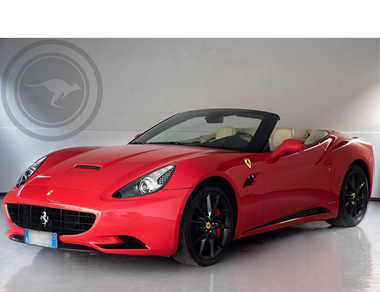 Ferrari California DCT Cabrio for rent, find out