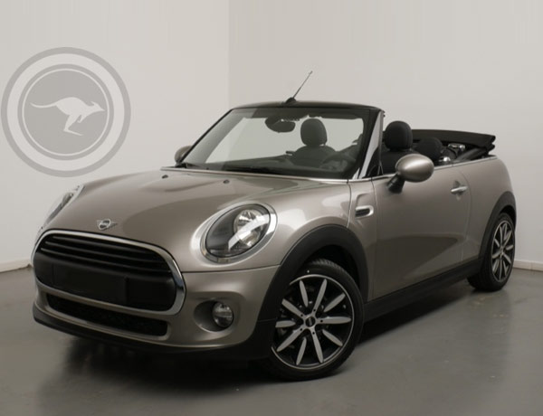 Mini Cooper Cabrio for rent, find out