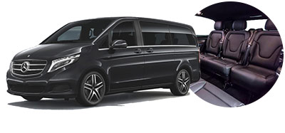 Mercedes V Class to hire