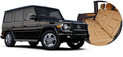 Merceds G Class to hire