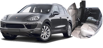 Porsche Cayenne for rent in Italy