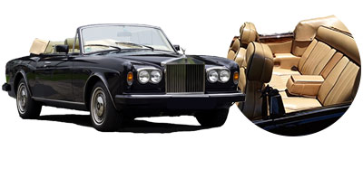 Rolls Royce Corniche to hire with Chauffeur